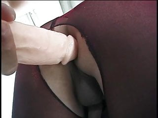 Ass fucked and then cock in old house...