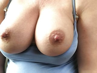 Great tits bouncing as I fuck myself April 2019