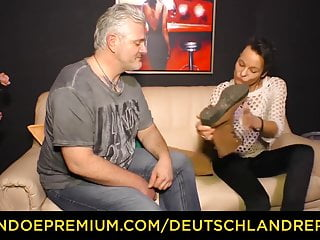 DEUTSCHLAND REPORT - Short haired mature picked and fucked