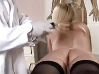 Fingering Doctor Medical video: Rectal exam, temperature and enema