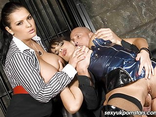 Big titted valerie summer black have...