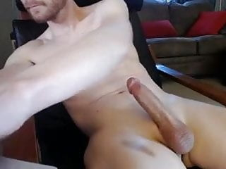 Thick shaved oiled and hard...