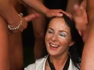 The Swinger Experience Presents gangfucked bukkake beauty