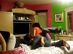 Mexican teens making out