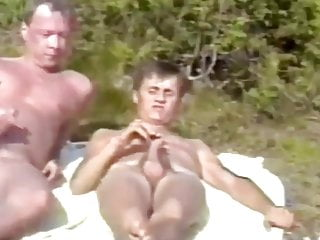 Roger virre and bjorn have sex on a...
