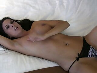 Play with my tits and cover them with cum – CEI