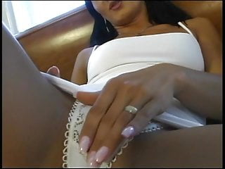 Gorgeous fit brunette slut does with guy and...