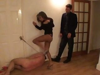 Kicking My Useless Cuckold