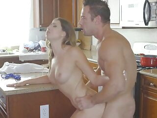 stepsister pornstar, big booty babe takes it up the ass