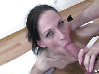 Skinny amy in threesome...