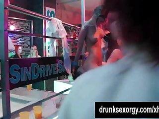 Party slags sex orgy...