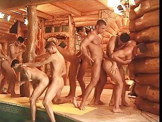 Orgy sauna...