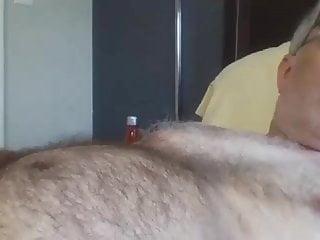 Old man cums on cam 24