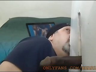 10 Inch BlaCk Cock Moaning As Crazy In My Gloryhole