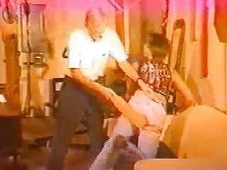 Golden oldie spanking...