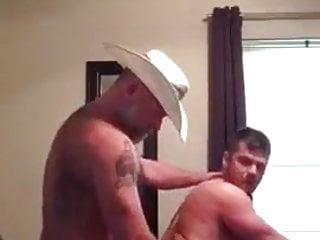 Lucky cowboy to fuck ass...