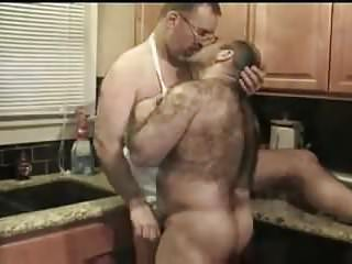 Hot sexy bears in the kitchen...