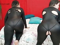 Fantasies Grubby Big Butt Farting Jeans Swimsuit And Nude