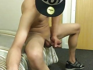Hiding Face While Cumming on Cam