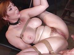 Lauren Philip's being restrained