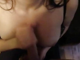 Titjob and Handjob from Edmonton Girl
