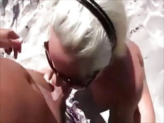 POV BLOWJOB: SUCKIN' IN THE BUSHES