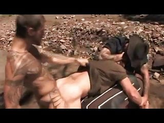 muscle cowboys forced fuck