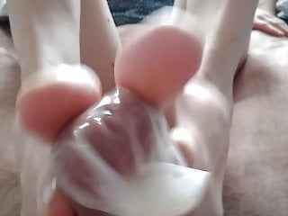 S my new By  me to friend cumshot) footjob final (with