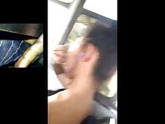 Metiendo Dedos Estudiante Bus Coperadora 1