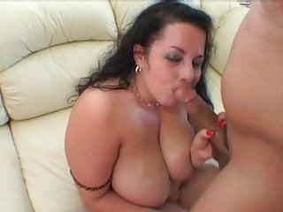Brunette Bbw Has Humongous Tits