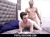 Twink Step Son Spanked & Punish Fucked By Step Dad For Fees