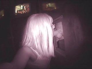 at a cock a SilkeTV sucking gloryhole big is