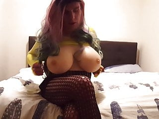Big boobs tranny...