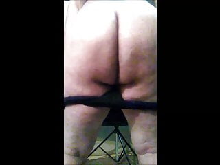 Antonella spanking with beater and show holy ass