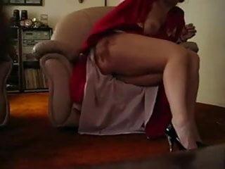 Footjob with mature woman...