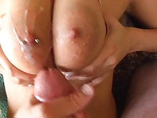 Tits fucked and cummed on...