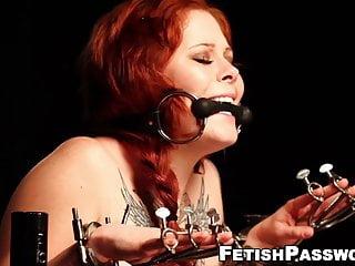 slut tormented domina Dawn Misti Bound redhead tattooed by