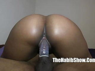 Thick red carmel cakes phat booty banged hard...