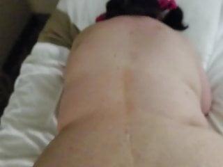 Slut has loud anal orgasm...
