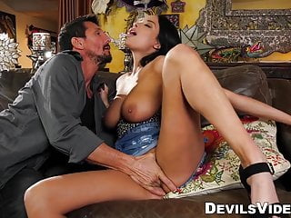 Is eager to fuck her old lover until...