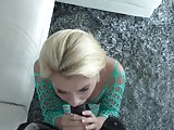 Hot Blonde Teen Riley Star tries out her very 1st BBC!
