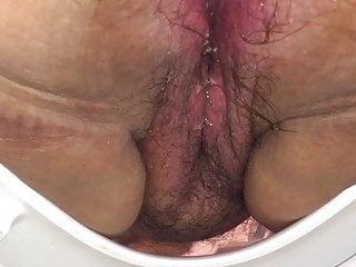 Bbw Voyeur Big Tits video: BBW Toilet Bowl Cam 1