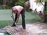 Guy pleases plump blonde neighbor