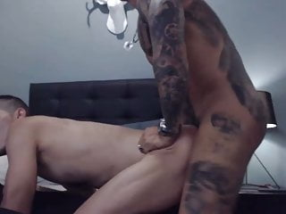 Spy hot tatto daddy fuck hard