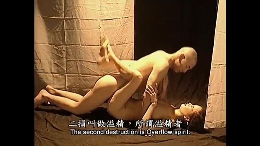 Monk teaches beautiful fairies to practice sex techniques