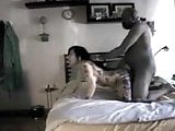 Asian hotwife gets drilled by Black man