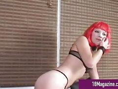 69 So Fine - Victoria Von Helkine & Candy Elektra Eat Pussy!