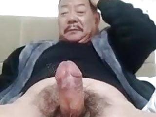 سکس گی jerk off oldman masturbation  japanese (gay) handjob  gay jerking (gay) daddy  big cock  asian  amateur