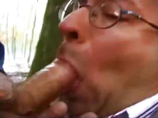 Daddy Swallowing ANON LOADS In the Woods