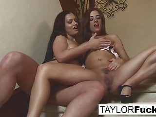 Taylor Vixen and her even bustier friend Aria Giovanni